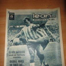 Coleccionismo deportivo: REVISTA LEAN KUBALA EN EL RCD ESPAÑOL Y CD SABADELL DE NUEVO EN SEGUNDA. Lote 61170219
