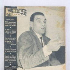 Coleccionismo deportivo: ANTIGUO PERIÓDICO / BOLETÍN DEL FÚTBOL CLUB BARCELONA - BARÇA. Nº 265, AÑO 1961 - FC. Lote 61253111