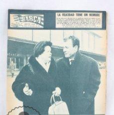 Coleccionismo deportivo: ANTIGUO PERIÓDICO / BOLETÍN DEL FÚTBOL CLUB BARCELONA - BARÇA. Nº 317, AÑO 1961 - FC. Lote 61312191