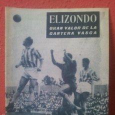 Coleccionismo deportivo: COLECCION IDOLOS DEL DEPORTE Nº 114 ELIZONDO. Lote 61355858