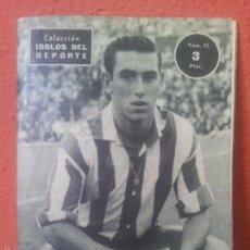 Coleccionismo deportivo: COLECCION IDOLOS DEL DEPORTE Nº 91 ADELARDO. Lote 61358621