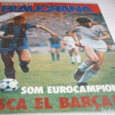 Coleccionismo deportivo: REVISTA ESPORTS BLAUGRANA Nº 13 1979 EXTRA RECOPA CAMPEONES. Lote 61580664