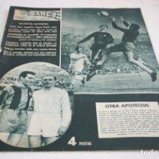 Coleccionismo deportivo: PERIODICO BARÇA Nº182 JUNIO 1959. Lote 61751464