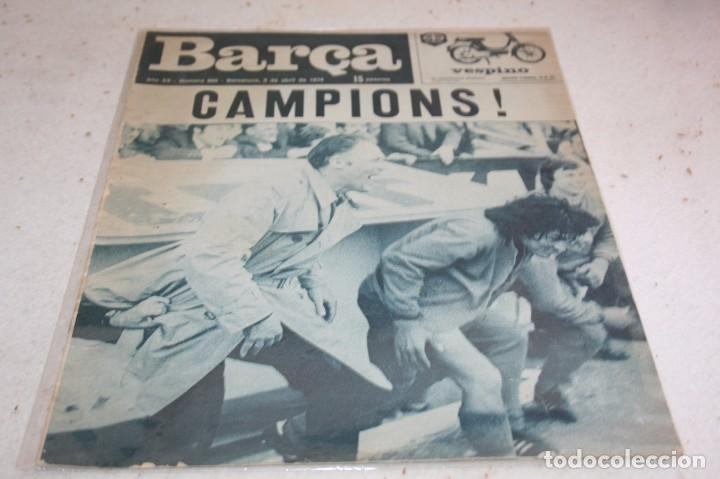 PERIODICO BARÇA Nº960 ABRIL 1974 BARCELONA CAMPEÓN LIGA 73-74 (Coleccionismo Deportivo - Revistas y Periódicos - otros Fútbol)