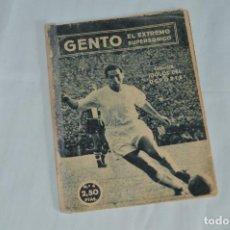 Coleccionismo deportivo: COLECCIÓN ÍDOLOS DEL DEPORTE - Nº 4 - GENTO - 1958 - MUY ANTIGUO - MEJOR VER FOTOS!. Lote 62511148