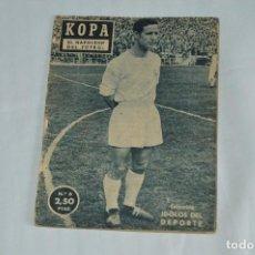 Coleccionismo deportivo: COLECCIÓN ÍDOLOS DEL DEPORTE - Nº 6 - KOPA - 1958 - MUY ANTIGUO - MEJOR VER FOTOS!. Lote 62511860