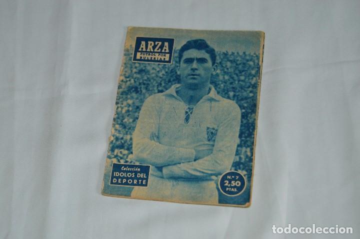COLECCIÓN ÍDOLOS DEL DEPORTE - Nº 7 - ARZA - 1958 - MUY ANTIGUO - MEJOR VER FOTOS! (Coleccionismo Deportivo - Revistas y Periódicos - otros Fútbol)