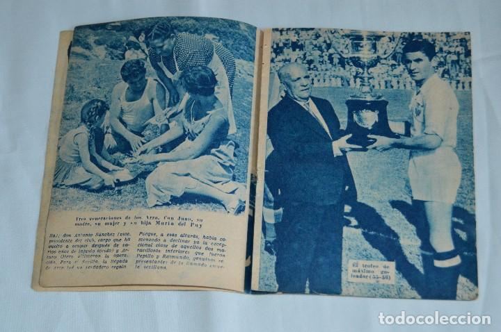 Coleccionismo deportivo: COLECCIÓN ÍDOLOS DEL DEPORTE - Nº 7 - ARZA - 1958 - MUY ANTIGUO - MEJOR VER FOTOS! - Foto 4 - 95879290