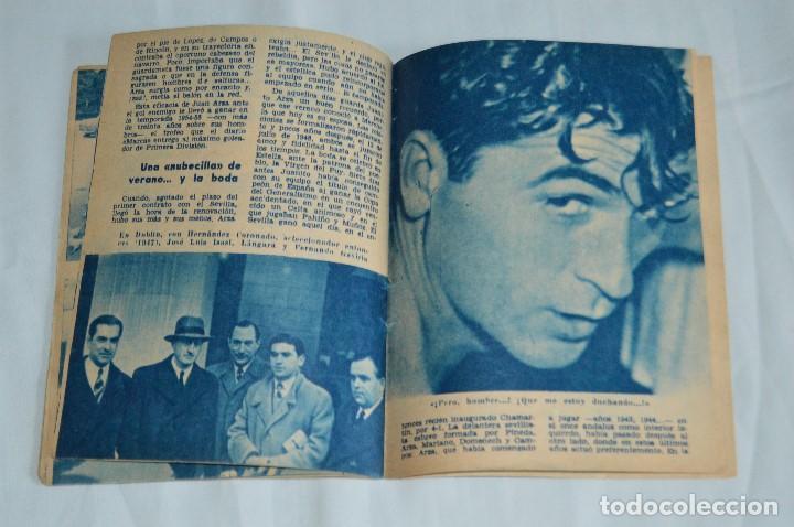 Coleccionismo deportivo: COLECCIÓN ÍDOLOS DEL DEPORTE - Nº 7 - ARZA - 1958 - MUY ANTIGUO - MEJOR VER FOTOS! - Foto 6 - 95879290