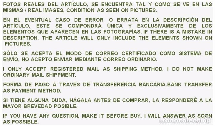Coleccionismo deportivo: COLECCIÓN ÍDOLOS DEL DEPORTE - Nº 7 - ARZA - 1958 - MUY ANTIGUO - MEJOR VER FOTOS! - Foto 7 - 95879290