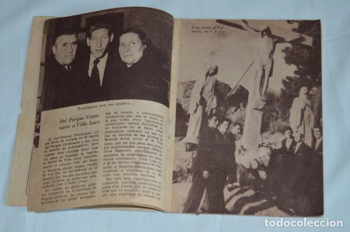 Coleccionismo deportivo: COLECCIÓN ÍDOLOS DEL DEPORTE - Nº 80 - DOMINGUEZ - AÑOS 50 - MUY ANTIGUO - MEJOR VER FOTOS! - Foto 5 - 62514712
