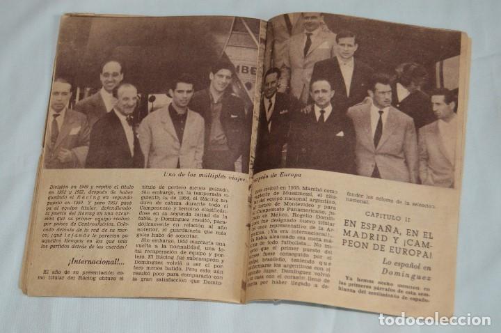 Coleccionismo deportivo: COLECCIÓN ÍDOLOS DEL DEPORTE - Nº 80 - DOMINGUEZ - AÑOS 50 - MUY ANTIGUO - MEJOR VER FOTOS! - Foto 6 - 62514712