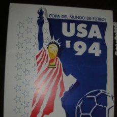 Coleccionismo deportivo: COPA DEL MUNDO DE FÚTBOL USA 94. Lote 62590184