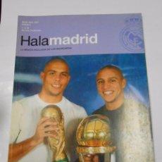 Coleccionismo deportivo: REVISTA HALA MADRID Nº 6. MARZO - MAYO 2003. LA REVISTA EXCLUSIVA DE LOS MADRIDISTAS. TDKR23. Lote 62728956