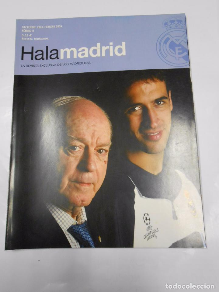 REVISTA HALA MADRID Nº 5 DICIEMBRE 2003 FEBRERO 2004 LA REVISTA EXCLUSIVA DE LOS MADRIDISTAS. TDKR23 (Coleccionismo Deportivo - Revistas y Periódicos - otros Fútbol)