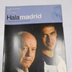 Coleccionismo deportivo: REVISTA HALA MADRID Nº 5 DICIEMBRE 2003 FEBRERO 2004 LA REVISTA EXCLUSIVA DE LOS MADRIDISTAS. TDKR23. Lote 62729296
