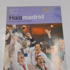 Coleccionismo deportivo: REVISTA HALA MADRID Nº 3. JUNIO AGOSTO 2002. LA REVISTA EXCLUSIVA DE LOS MADRIDISTAS. TDKR23. Lote 62729404