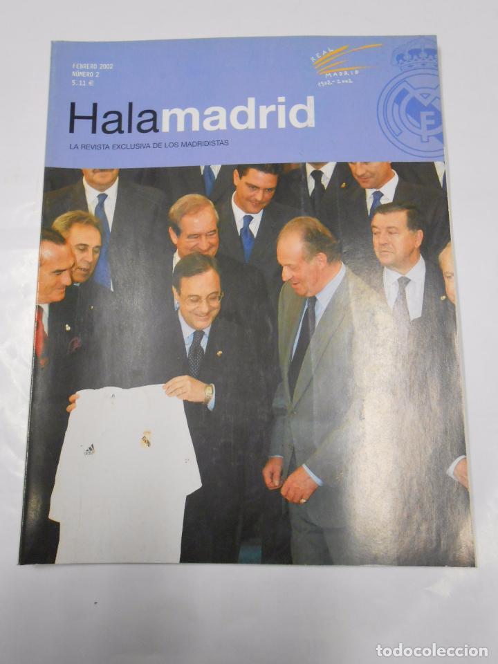 REVISTA HALA MADRID Nº 2. FEBRERO 2002. LA REVISTA EXCLUSIVA DE LOS MADRIDISTAS. TDKR23 (Coleccionismo Deportivo - Revistas y Periódicos - otros Fútbol)