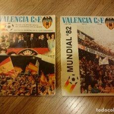Coleccionismo deportivo: LOTE DE 2 REVISTAS DEL VALENCIA C DE F AÑO 1982 . Lote 62919888