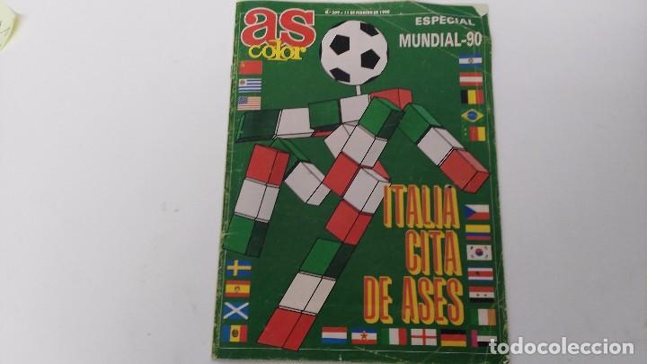REVISTA AS COLOR EXTRA MUNDIAL (Coleccionismo Deportivo - Revistas y Periódicos - otros Fútbol)