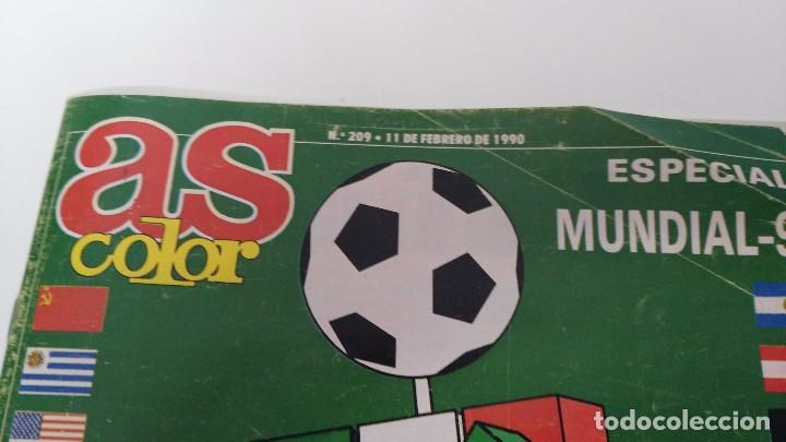 Coleccionismo deportivo: revista as color extra mundial - Foto 2 - 63088484
