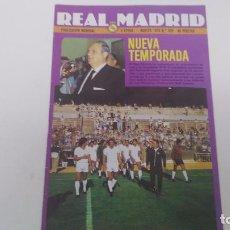 Colecionismo desportivo: REVISTA ANTIGUA REAL MADRID Nº 339. Lote 63295344