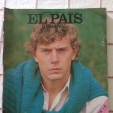 Coleccionismo deportivo: REVISTA EL PAÍS SEMANAL 9 NOVIEMBRE 1986 BUTRAGUEÑO NÚMERO 500. Lote 63445900