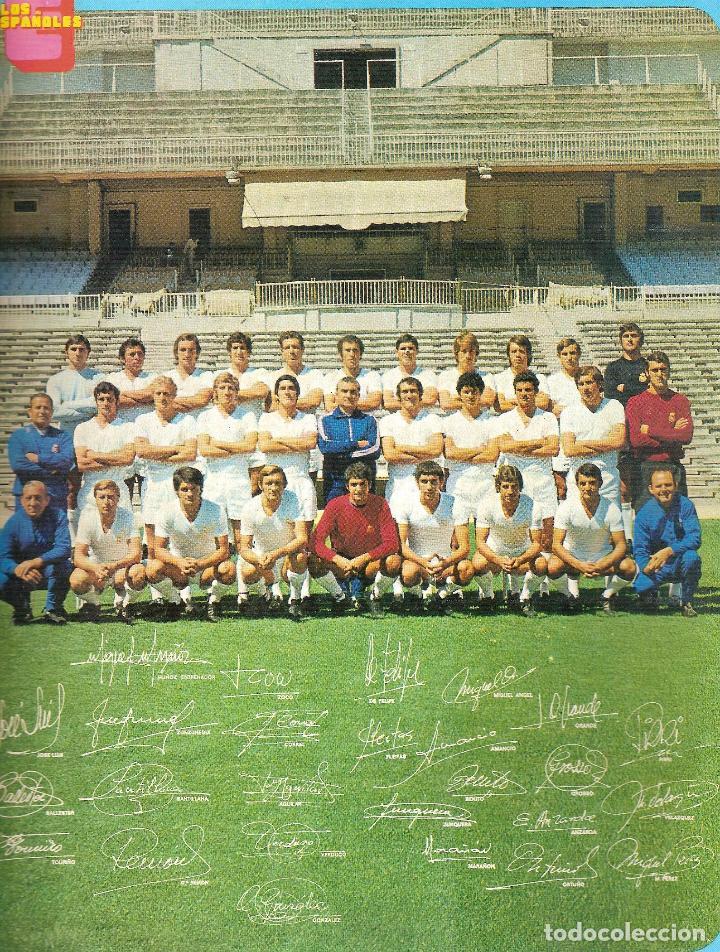 Coleccionismo deportivo: LOS ESPAÑOLES. COLECCIONABLE Nº 28. REAL MADRID - Foto 2 - 63588940