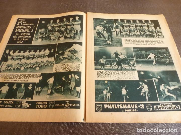Coleccionismo deportivo: REVISTA LEAN(4-8-69)GRANOLLERS 1 BARÇA 2,HOMENAJE GALLEGO,COPA GALEA TENIS,GRAN TOUR FRANCIA. - Foto 3 - 63728951