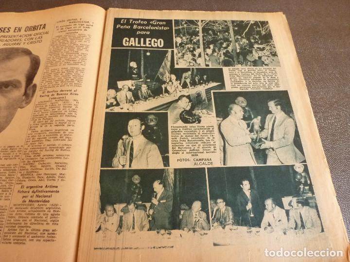 Coleccionismo deportivo: REVISTA LEAN(4-8-69)GRANOLLERS 1 BARÇA 2,HOMENAJE GALLEGO,COPA GALEA TENIS,GRAN TOUR FRANCIA. - Foto 4 - 63728951