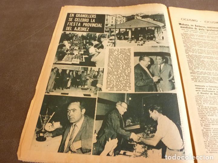 Coleccionismo deportivo: REVISTA LEAN(4-8-69)GRANOLLERS 1 BARÇA 2,HOMENAJE GALLEGO,COPA GALEA TENIS,GRAN TOUR FRANCIA. - Foto 5 - 63728951