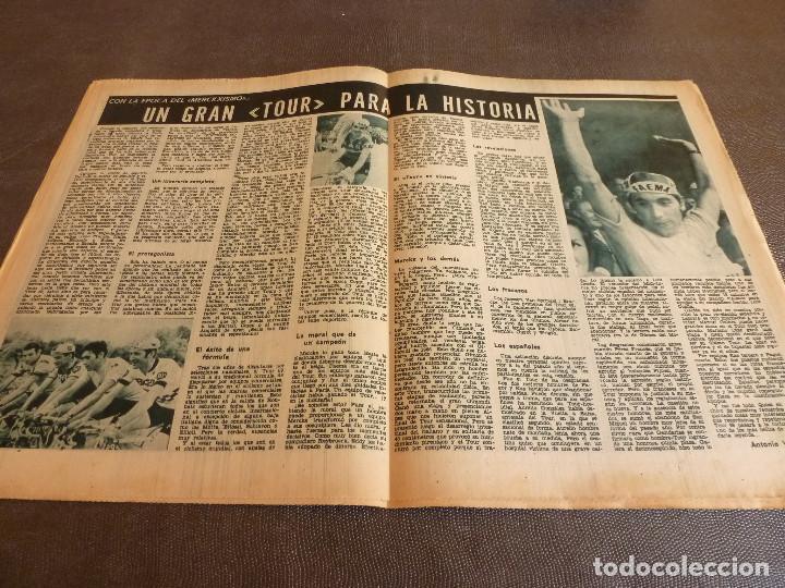 Coleccionismo deportivo: REVISTA LEAN(4-8-69)GRANOLLERS 1 BARÇA 2,HOMENAJE GALLEGO,COPA GALEA TENIS,GRAN TOUR FRANCIA. - Foto 6 - 63728951