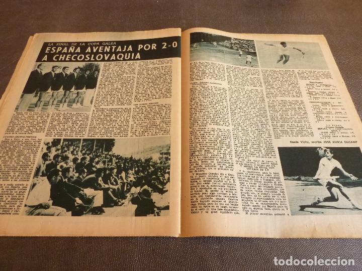 Coleccionismo deportivo: REVISTA LEAN(4-8-69)GRANOLLERS 1 BARÇA 2,HOMENAJE GALLEGO,COPA GALEA TENIS,GRAN TOUR FRANCIA. - Foto 7 - 63728951