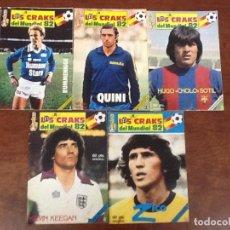 Coleccionismo deportivo: LOS 10 CRAKS DEL MUNDIAL 82.LOTE COMPLETO.. Lote 63969603