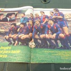 Coleccionismo deportivo: ESPECIAL DEDICADO BARÇA CAMPEÓN LIGA 84-85 !!!! URRUTI T `ESTIMO !!!!!!POSTER CARICATURAS BARÇA.. Lote 64196283