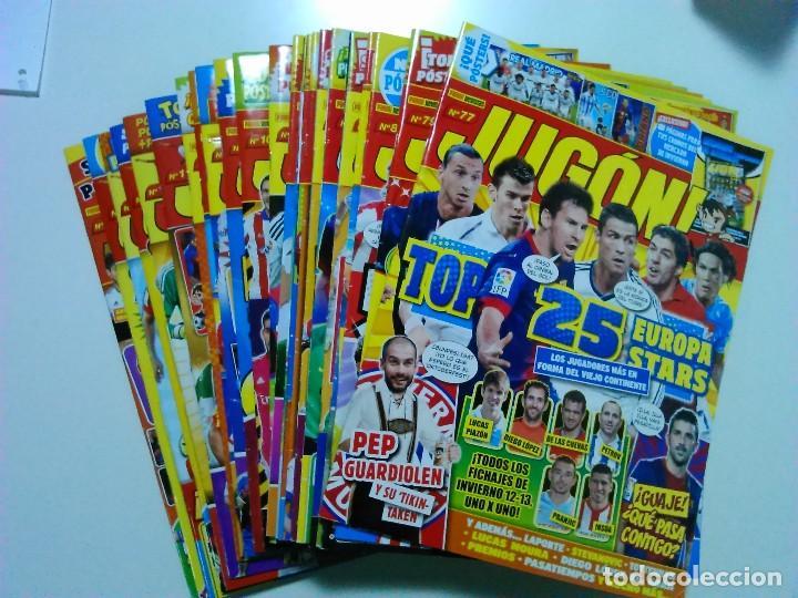 LOTE 13 NÚMEROS DE LA REVISTA JUGÓN (Coleccionismo Deportivo - Revistas y Periódicos - otros Fútbol)