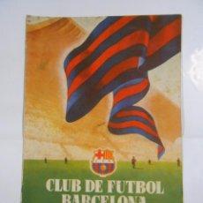 Coleccionismo deportivo: REVISTA CLUB DE FUTBOL BARCELONA. INFORMACION Nº 10. MES DE ABRIL. AÑO 1955. TDKR25. Lote 64757927