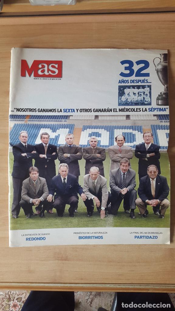 Coleccionismo deportivo: LOTE REVISTAS Y FOTOS DEL REAL MADRID (VER FOTOS ADICIONALES) - Foto 2 - 66281314