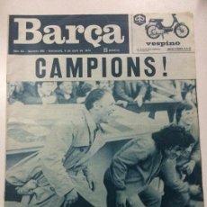 Coleccionismo deportivo: REVISTA BARÇA, AÑO XX NÚMERO 960, 9 ABRIL 1974, FC BARCELONA CAMPEÓN LIGA 1973-74.. Lote 67123233