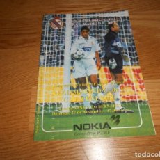 Collectionnisme sportif: PROGRAMA OFICIAL REAL MADRID CF. Y C .D. TENERIFE Nº 9 94/95. Lote 67201325