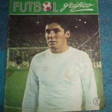 Coleccionismo deportivo: 1973 REVISTA FUTBOL GRAFICO N.º 23 PORTADA SANTAMARIA GIJON 2 ATH. BILBAO 0 . Lote 67442989