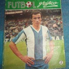 Coleccionismo deportivo: 1973 REVISTA FUTBOL GRAFICO N.º 22 PORTADA ROBERTO MARTINEZ . Lote 67443181