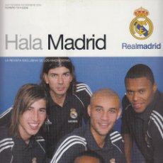 Coleccionismo deportivo: HALA MADRID LA REVISTA EXCLUSIVA DE LOS MADRIDISTAS Nº16 SEPTIEMBRE-NOVIEMBRE 2005 PAGINAS 82 LE1404. Lote 67462313
