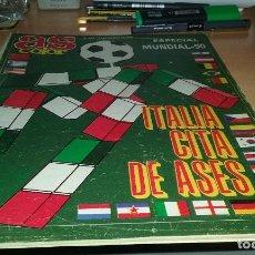 Coleccionismo deportivo: EXTRA AS COLOR ITALIA 1990. MUY BUEN ESTADO. Lote 67504105