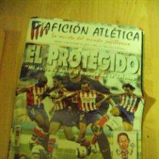 Coleccionismo deportivo: AFICION ATLETICA Nº 93 2004 , LA REVISTA DEL MUNDO ROJIBLANCO - Y TRES POSTERS. Lote 68396869