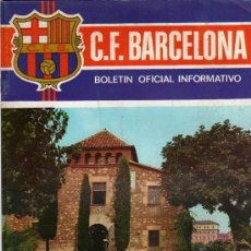 Coleccionismo deportivo: C.F.BARCELONA, BOLETIN INFORMATIVO, NOVIEMBRE, AÑO II, Nº11, 1971, INAUGURACION PALAU BLAUGRANA. Lote 68868729