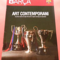 Coleccionismo deportivo: REVISTA OFICIAL BARÇA CAMPEON LIGA-CHAMPIONS-COPA REY ESPECIAL 08/09 POSTER FC BARCELONA 2008/2009. Lote 69041545