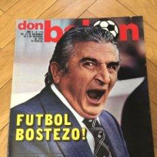 Coleccionismo deportivo: DON BALON NUMERO 216 4 DICIEMBRE 1979 BONHOF QUIERE IRSE ZURDOS DE ORO . Lote 71058413