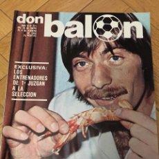 Coleccionismo deportivo: DON BALON NUMERO 225 4 FEBRERO 1980 MIGUELI ESPAÑA 1-0 HOLANDA FOTO ALINEACION. Lote 71060093