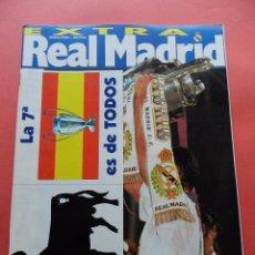 Coleccionismo deportivo: REVISTA OFICIAL REAL MADRID EXTRA CHAMPIONS LEAGUE 1997/1998-POSTER SEPTIMA COPA EUROPA 97/98. Lote 71483311